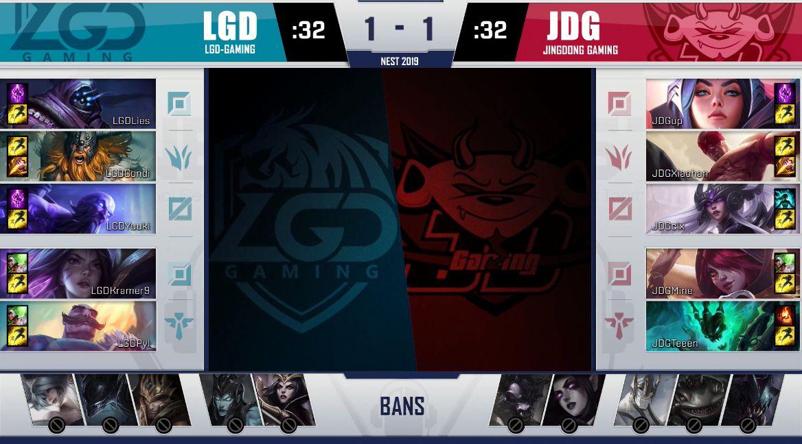 【战报】瞎子带动全场敢打敢拼,JDG击败LGD拿下赛点局